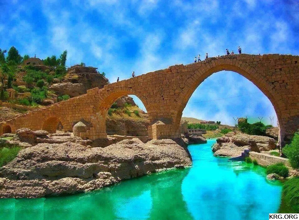 Delal bridge Zakho