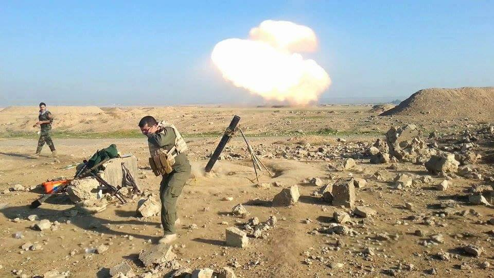 Photos of Peshmerga Operation in South of Kirkuk