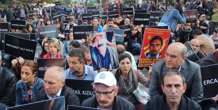 Commemorations at the 1st week of Ankara massacre: We will not forget