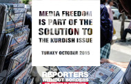 RSF: Freedom of information essential for peace in Turkey