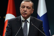 Erdoğan says Turkey may hit US-backed Syrian Kurds to block advance