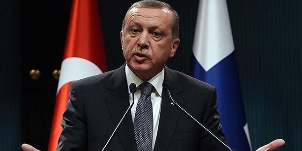 Erdoğan says Turkey may hit US-backed Syrian Kurds to block advance