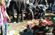 Dozens killed as twin explosions hit demonstrators for peace in Ankara