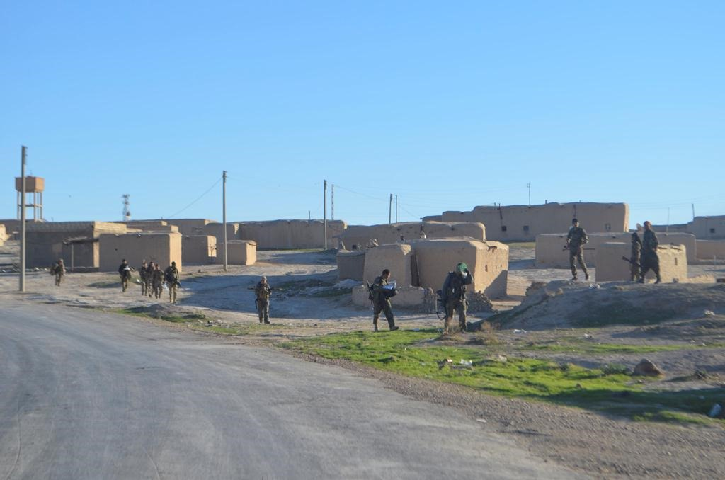 Syrian Democratic Forces (SDF) liberated strategic Şelala village