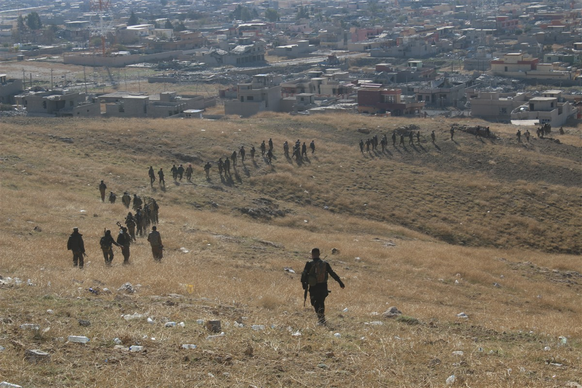 Video & Photos of Liberation of Sinjar (Shengal)