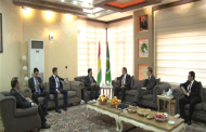 Head of Kurdistan Region Protection and Intelligence Agency Meets UK Ambassador to Iraq