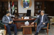 Governor of Kirkuk received Lahor Sheikh Gangi