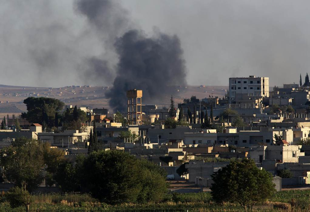 Al-Qaeda militants hit Syrian Kurdish city with dozens of mortars