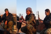 YPJ fighters: We will never allow gangs to occupy Efrîn