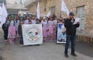 Teachers and artists protest isolation on Öcalan