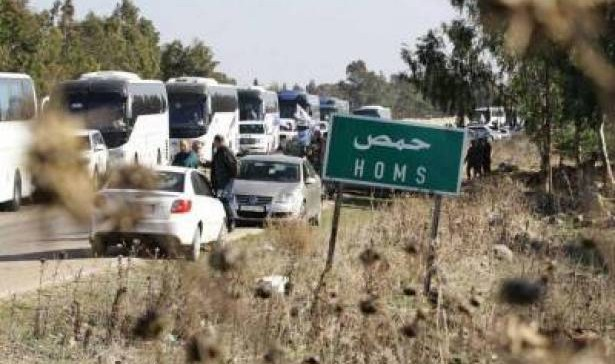 750 people evacuated from Homs