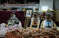 15th day of hunger strike by families to reclaim their children's bodies