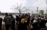 Afrin Residents Protest Against Turkish Army's Border Crossing