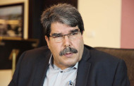 PYD co-chair Salih Muslim arrives at Geneva to attend Geneva 3 conference