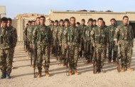 Arab and Turkmen youths trained together by People's Protection Units (YPG)
