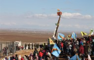 Kobanê celebrates the first anniversary of liberation on Mishtenûr Hill