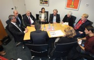 Co-mayors of Amed, Mardin and Van meet EP and EU officials