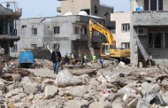State forces demolish buildings in Cizre's Cudi neighborhood