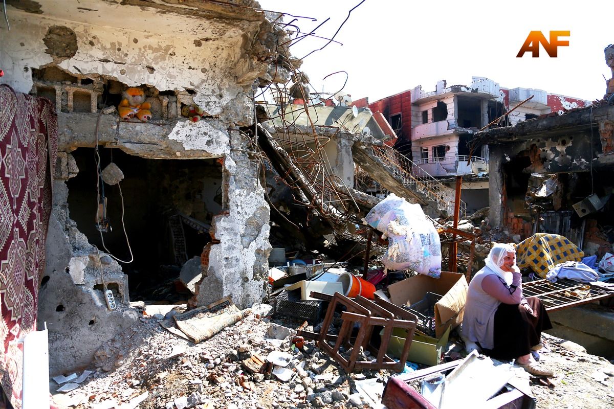 DBP report on Cizre: Nearly 300 people died, town largely damaged