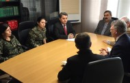 Rojava delegation in Luxembourg for official talks