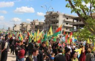 Thousands Rally for Federalism in Qamishlo, Rojava