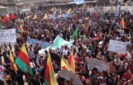 Thousands march in Kobanê for Öcalan's freedom