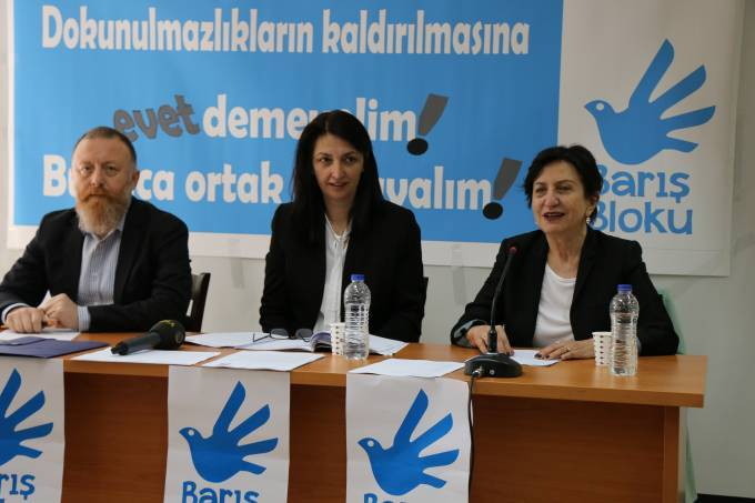 Peace Bloc calls upon parliamentarians to reject the lifting of immunities