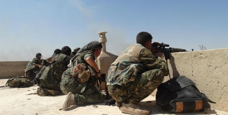 ISIS attacks across Rojava