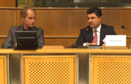 Lahur Sheikh Jangi Attends EU Discussion Panel On Fighting IS and Highlight Latest Developments
