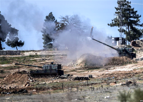 PYD: Turkish Army shelling of Kurdish Towns Aiming at Killing Kurds Not ISIS