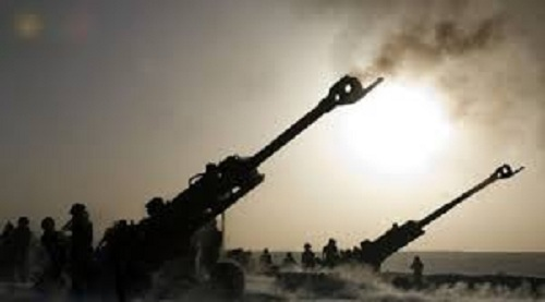 Turkish artillery intensively bombards the KRI villages