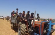Hundreds of refugees head for the liberated areas