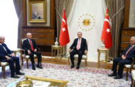 Erdogan Meets Opposition Leaders, Excluding Pro-Kurdish HDP
