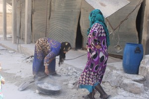 More than forty shells, fourty houses destroyed in Kurdish Shekh Maqsoud