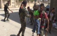 Rojava forces help people to arrive to safe area