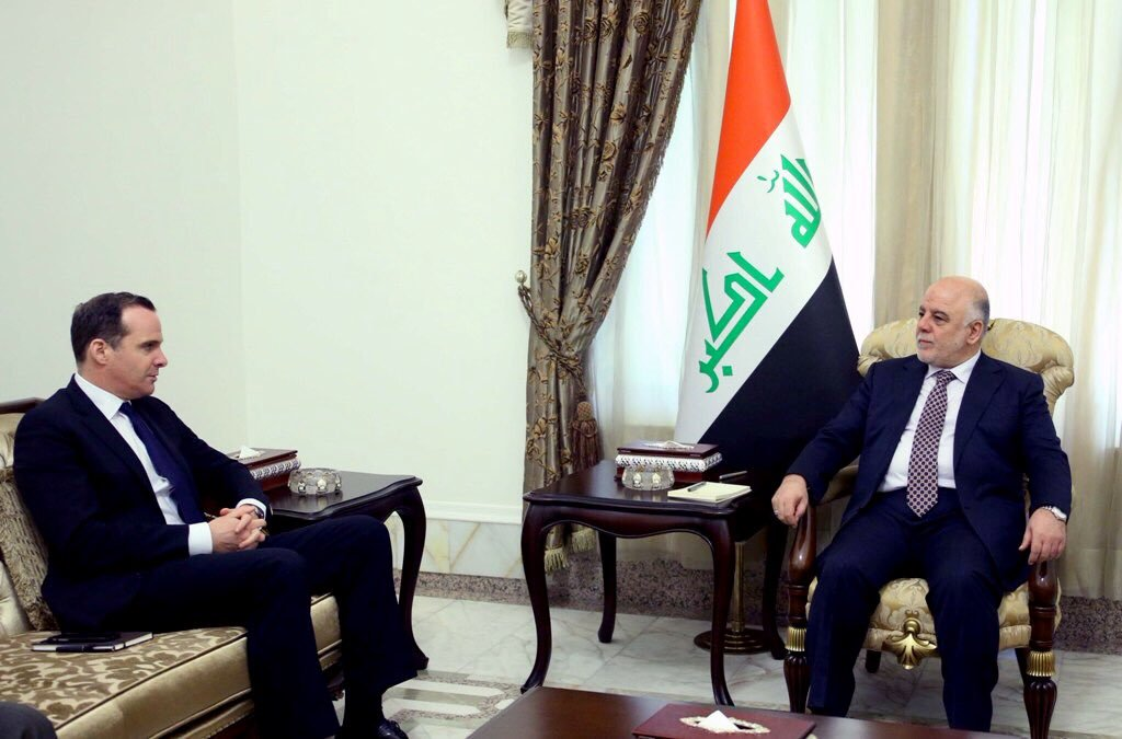 "Pres Obama Envoy:"" Unprecedented Cooperation Between Peshmerga and Iraqi Forces on Mosul Operation"""