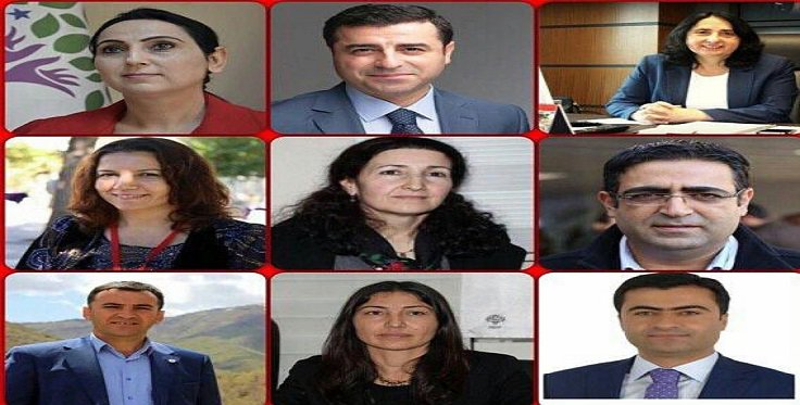 Arrested Kurdish MPs send messages