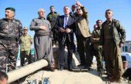 EU Ambassador Visits Peshmerga Front Lines in Kirkuk