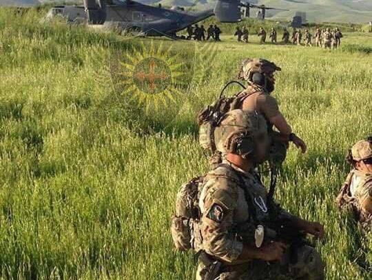 The War on ISIS and the American and Kurdish Warriors