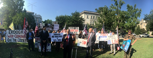 U.S. Representatives Reject Violence Against Peaceful Protestors