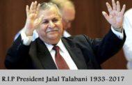Jalal Talabani, The Kurdish Leader Passed Away