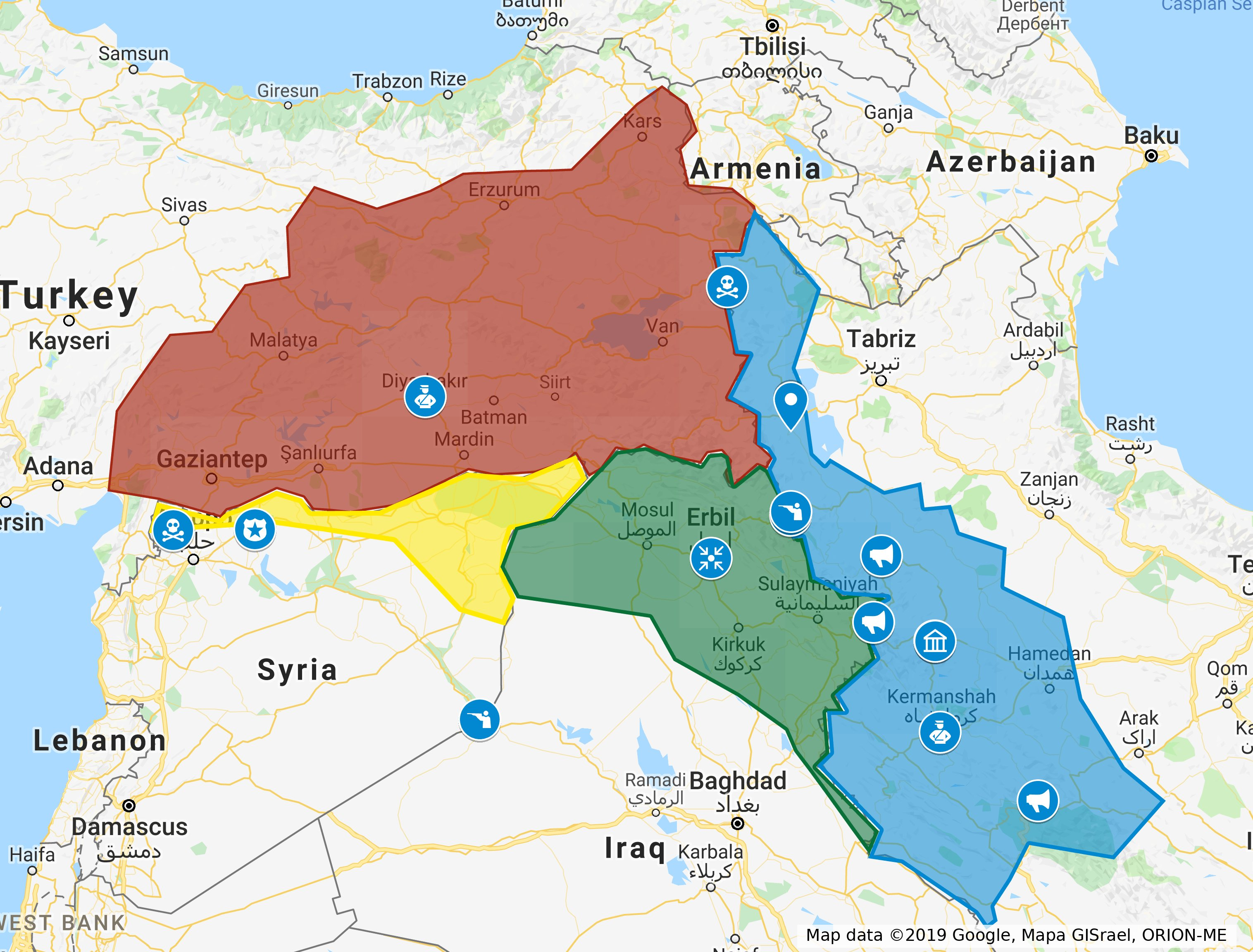 Kurdistan's Weekly Brief March 5, 2019 | Washington Kurdish Insute on dead sea map, chechnya map, kashmir map, erbil map, kyrgyzstan map, baluchistan map, lebanon map, iraqi kurdistan, uzbekistan map, assyria map, kurdish population map, kurdish language, ukraine map, kurdish jews, turkish kurdistan, iraq map, afghanistan map, iranian kurdistan, halabja poison gas attack, kurdistan province, kurdish people, turkey map, kuwait map, baghdad map, kurdish flag, south ossetia map, palestine map, zagros mountains, persian people, iran map, scotland map,
